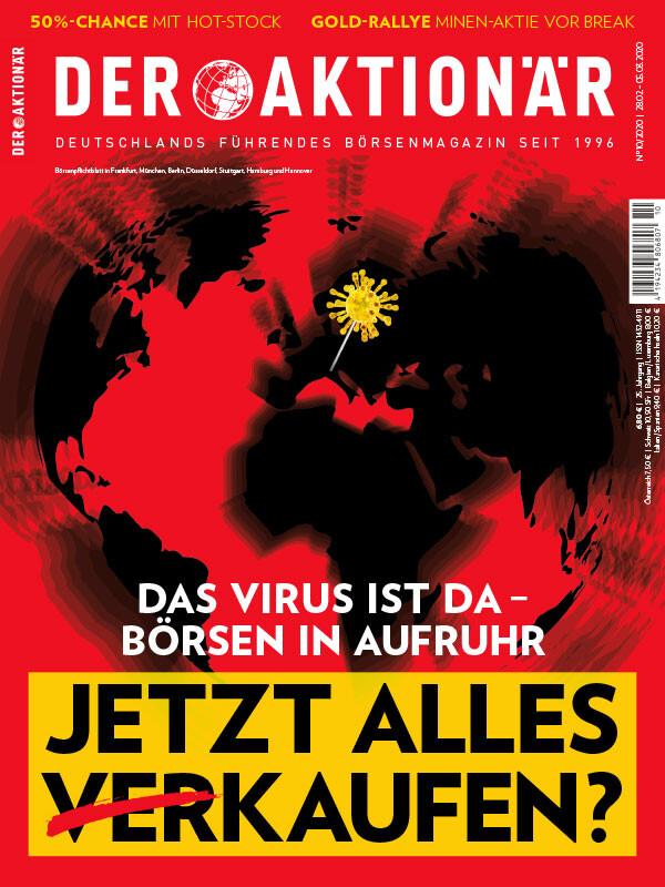 DAX weiter im Crash-Modus: 300 Punkte runter – Neue Tiefs - Wirecard und Bayer schwach - DER AKTIONÄR