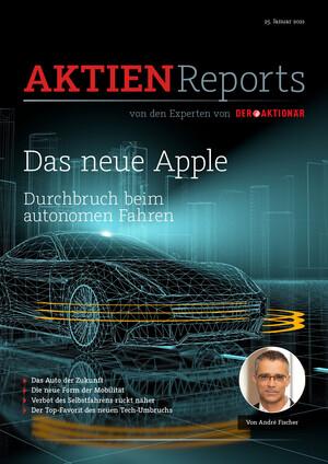 Aktienreports - Das neue Apple – das Auto der Zukunft