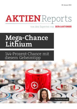 Aktienreports - Mega-Chance Lithium – 144-Prozent-Chance mit diesem Geheimtipp
