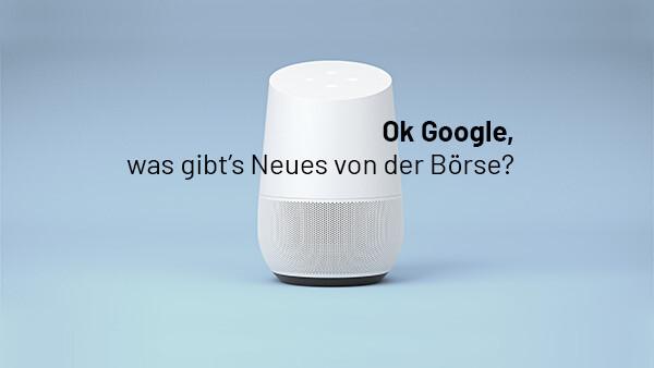 """""""DER AKTIONÄR"""" kooperiert mit Google Home"""