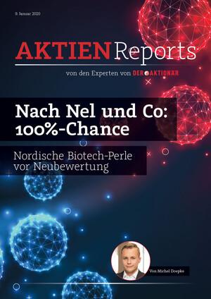 Aktien-Reports - Nach Nel und Co: 100%-Chance – nordische Biotech-Perle vor Neubewertung
