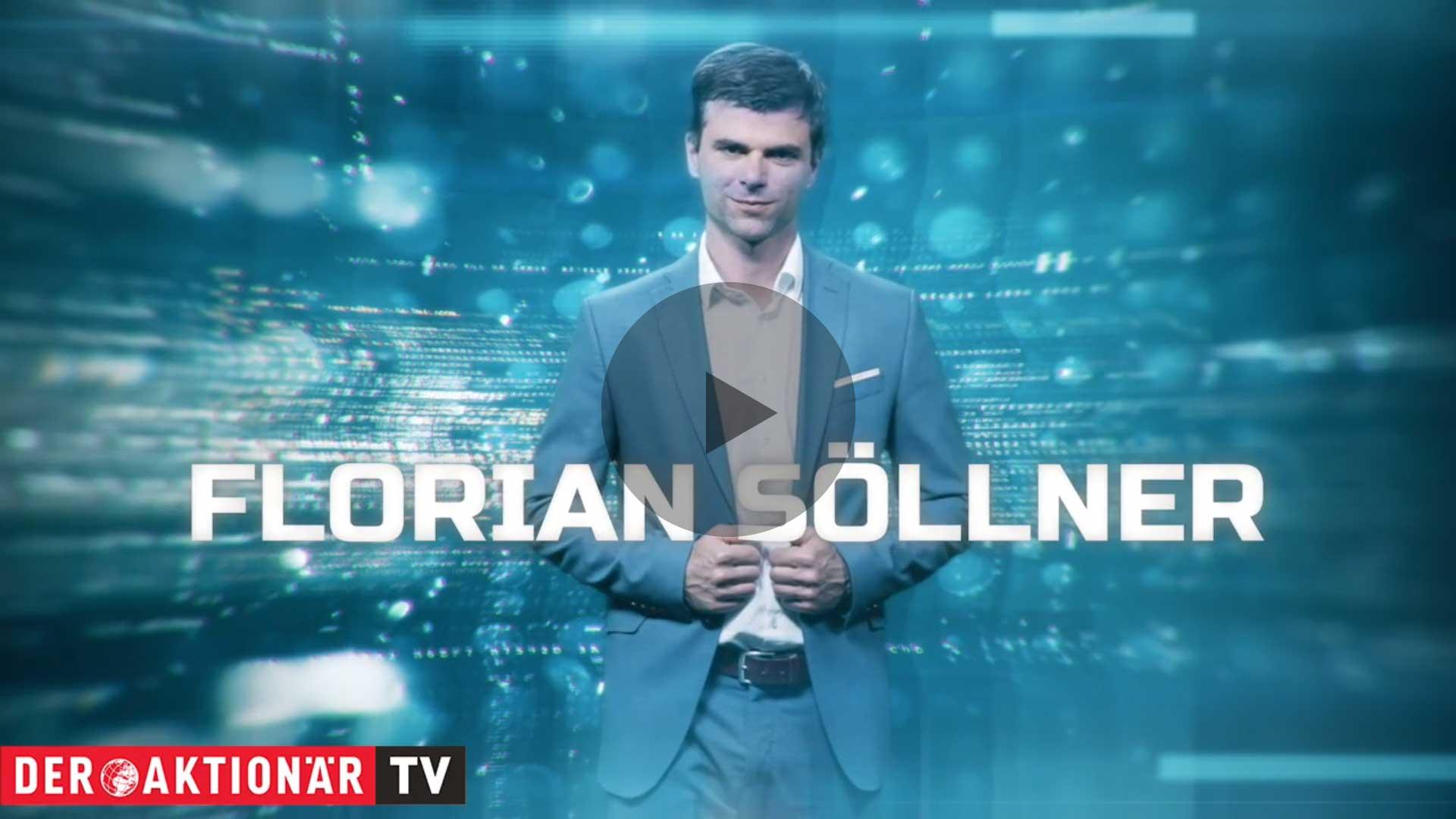 Florian Söllner bei DER AKTIONÄR TV