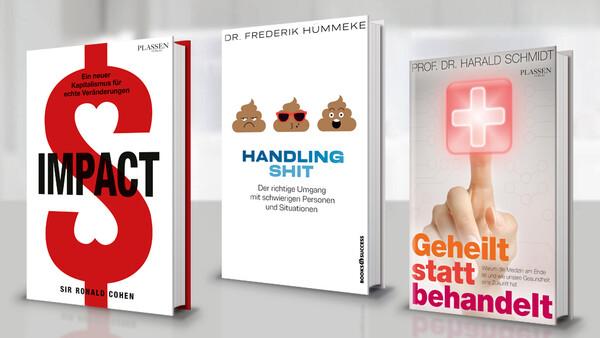 PLASSEN Buchverlage: Drei Neuerscheinungen im Mai