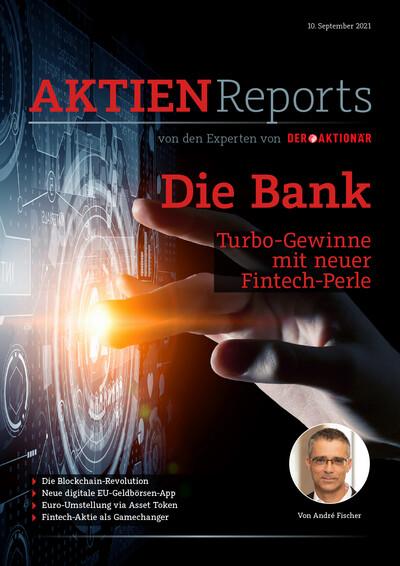 Die Bank - Turbo-Gewinne mit neuer Fintech-Perle