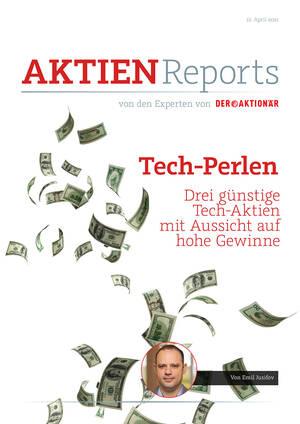 Aktienreports - Tech-Perlen – drei günstige Tech-Aktien mit Aussicht auf hohe Gewinne