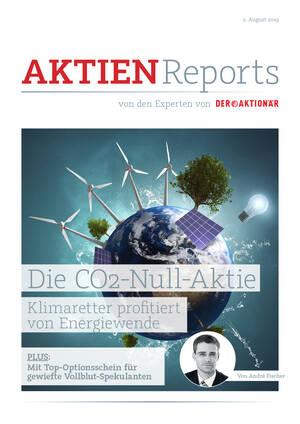Aktien-Reports - Hidden Champion abseits von Tesla: Die CO2-Null-Aktie + Top-Optionsschein für gewiefte Vollblut-Spekulanten