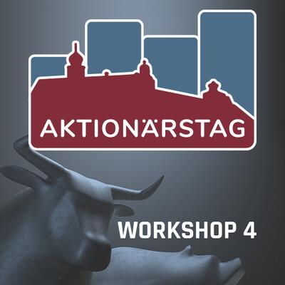 Aktionärstag 2019 – WORKSHOP #4