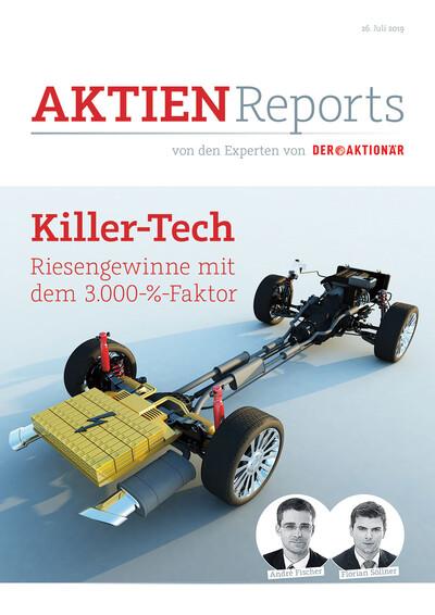 Killer-Tech: Riesengewinne mit dem 3.000-%-Faktor