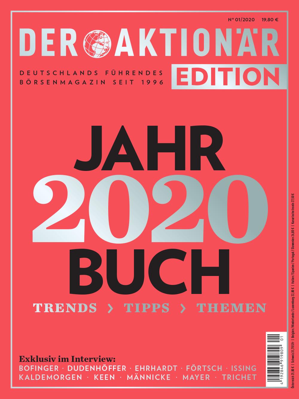 DER AKTIONÄR Jahrbuch 2020
