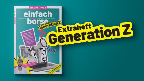 """DER AKTIONÄR unterstützt mit Sonderpublikation """"Generation Z"""" Finanzbildung in Oberfranken"""