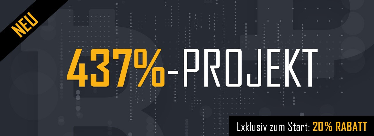 437%-Projekt – Bitcoin Report