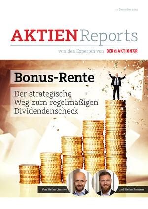 Aktien-Reports - Mach's wie Warren – Zusatzrente dank Dividenden