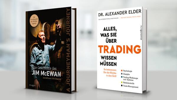 PLASSEN Buchverlage: Trading-Profi Dr. Elder und Whisky-Legende McEwan erscheinen im Kulmbacher Verlagshaus