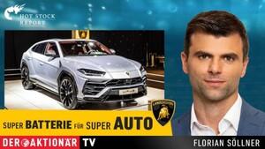Neu: Porsche mit Super‑Batterie gegen Tesla. Das ist eine große Chance für diesen Varta‑Lieferanten  / Foto: Der Aktionär TV
