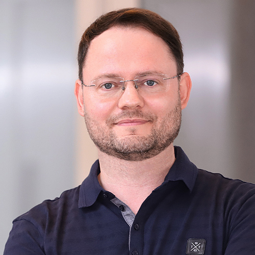 Frank Hinkel, Leiter Softwareentwicklung und Prototyping