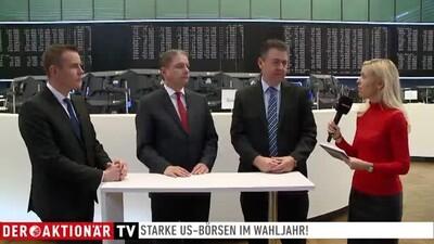 Börsenplatz Talk Halver, Stanzl, Blumenroth: Good news und Börsenrallye - Neue Markt-Prognosen erforderlich?