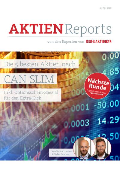 Die 5 besten Aktien nach CAN SLIM (inkl. Optionsschein-Spezial) – Second Edition