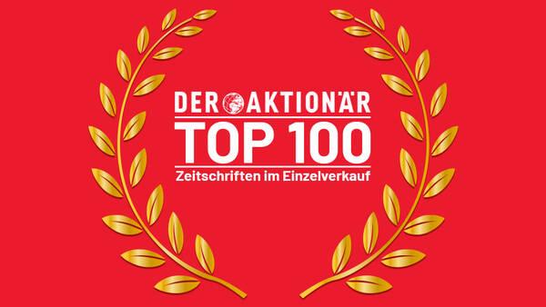 DER AKTIONÄR unter den TOP100 umsatzstärksten Titeln am Kiosk