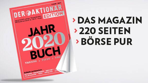 """DER AKTIONÄR startet EDITION: Erste Ausgabe erscheint als """"Jahrbuch 2020"""""""