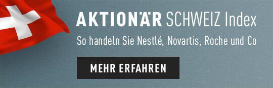 Mehr zum neuen AKTIONÄR Schweiz Index