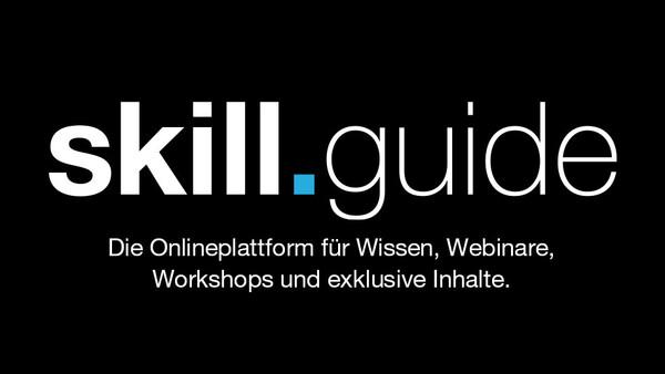 Börsenmedien AG startet skill.guide: Die Online-Plattform für Wissen, Webinare, Workshops und exklusive Inhalte