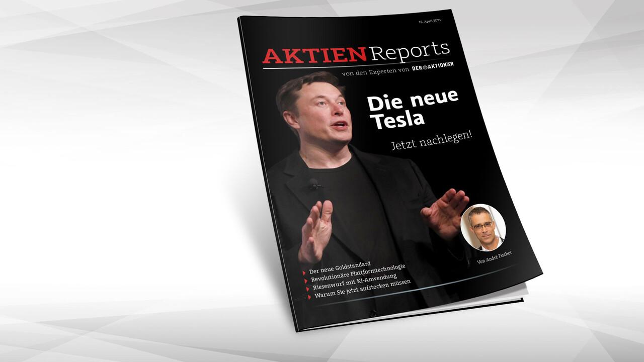 Die neue Tesla / Jetzt nachlegen!