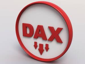 Update: 200 Punkte Minus ‑ DAX holt tief Luft