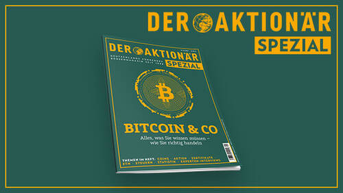 "DER AKTIONÄR SPEZIAL: Sonderheft ""Bitcoin & Co"" erscheint am 30. April"