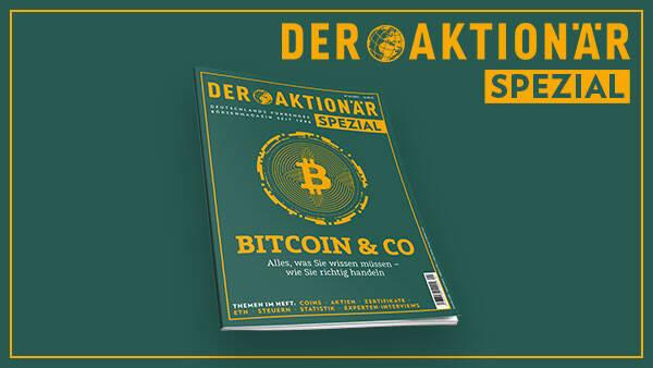 """DER AKTIONÄR SPEZIAL: Sonderheft """"Bitcoin & Co"""" erscheint am 30. April"""