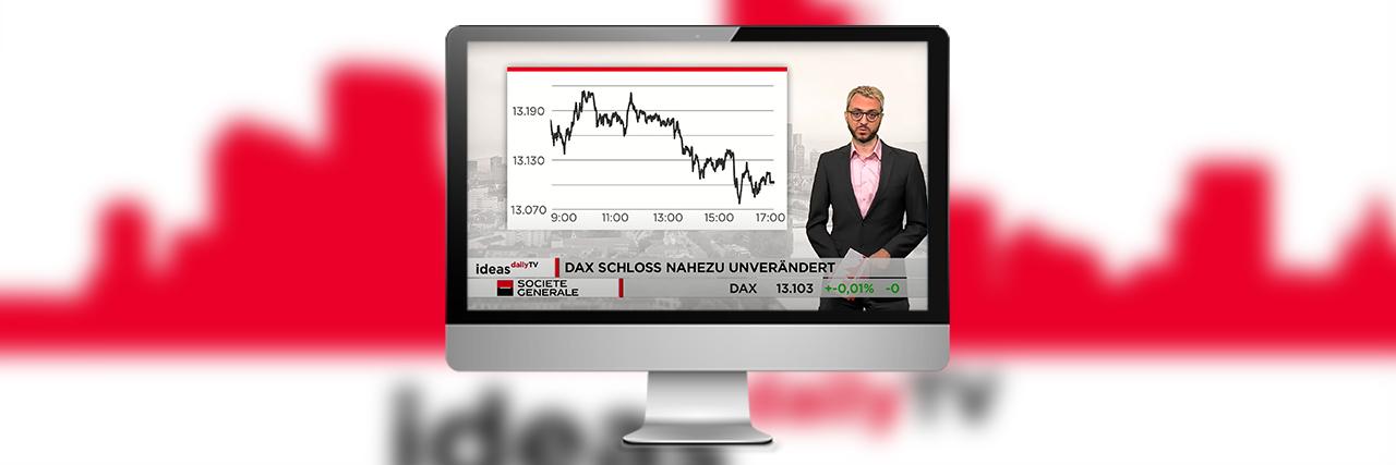 Die Sendung ideas daily TV auf Bildschirm