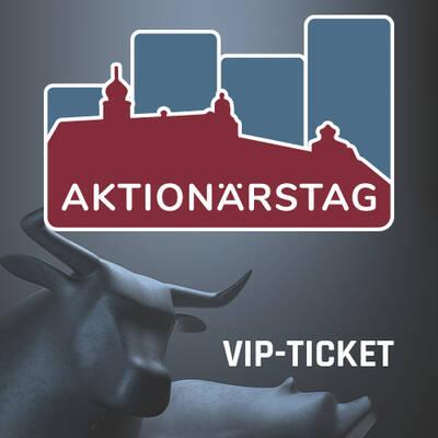 Aktionärstag 2019 – VIP-Ticket