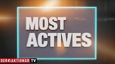 Most Actives: Varta, Telekom, Deutsche Bank