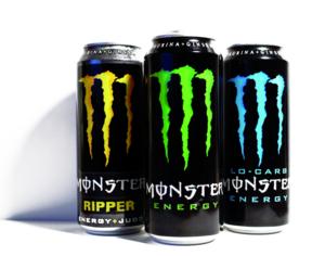 Volle Energie mit Monster Energy