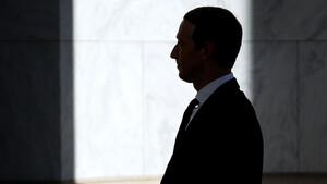 Facebook: Ein seltener Anblick