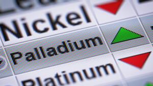 Palladium: Der Fels in der Brandung!  / Foto: Shutterstock