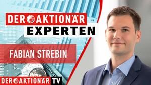 Paypal und Square im Check: AKTIONÄR‑Redakteur Strebin im Interview zu Finanzwerten  / Foto: Der Aktionär TV