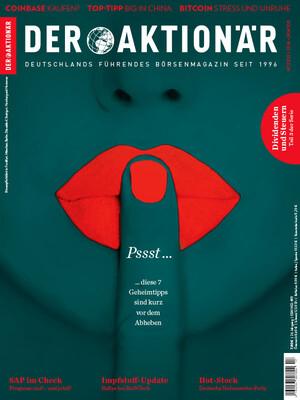 DER AKTIONÄR - Ausgabe 17/21