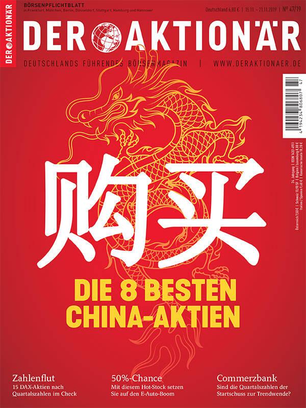 购买 – Kaufen!  Die 8 besten China-Aktien - DER AKTIONÄR