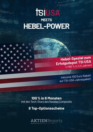 Aktien-Reports - TSI USA meets Hebel-Power – Mit 8 Scheinen 100% in 6 Monaten?!