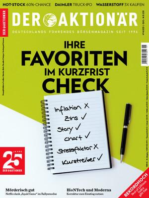 DER AKTIONÄR - Ausgabe 41/21