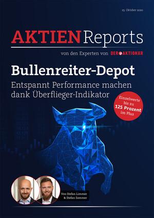 Aktienreports - Bullenreiter-Depot: Tesla und Co sorgen für ein dickes Plus!