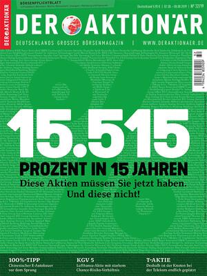 DER AKTIONÄR - Ausgabe 32/19