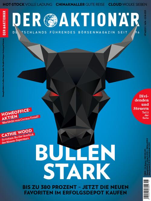 DER AKTIONÄR Ausgabe 2021016