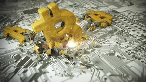 Bitcoin & Co: Das sieht nicht schön aus, aber…  / Foto: iStockphoto