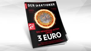 Die heißesten Aktien unter 3 Euro