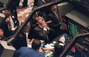 Schwarze Tage an der Börse