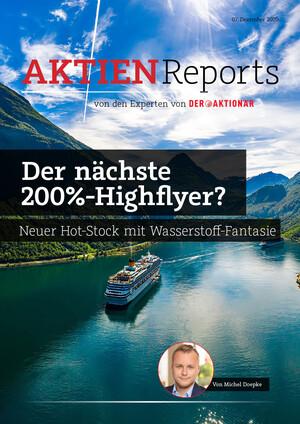 Aktien-Reports - Nach Nel und Ceres: Nächster Wasserstoff-Hot-Stock