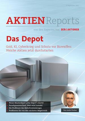 Aktienreports - Das Depot