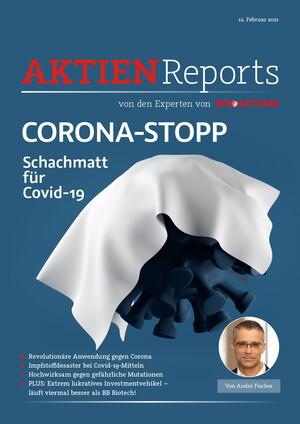 Aktienreports - CORONA-STOPP: Schachmatt für Covid-19
