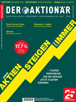 DER AKTIONÄR - Ausgabe 42/21